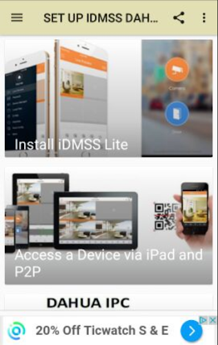 Download IDMSS DAHUA - Manual APK latest version app by josephe