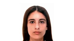 Imagen de la menor desaparecida publicada por la Fundación ANAR.