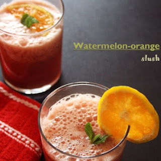 Watermelon And Orange Juice – Summer