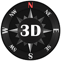 Compass Steel 3D icon