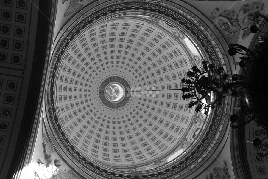 church dome by Cristobal Garciaferro Rubio - Buildings & Architecture Other Interior