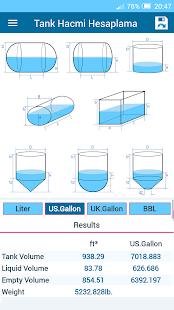 Tank Volume Calculator Pro