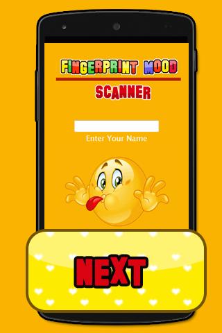 Fingerprint Mood Scanner