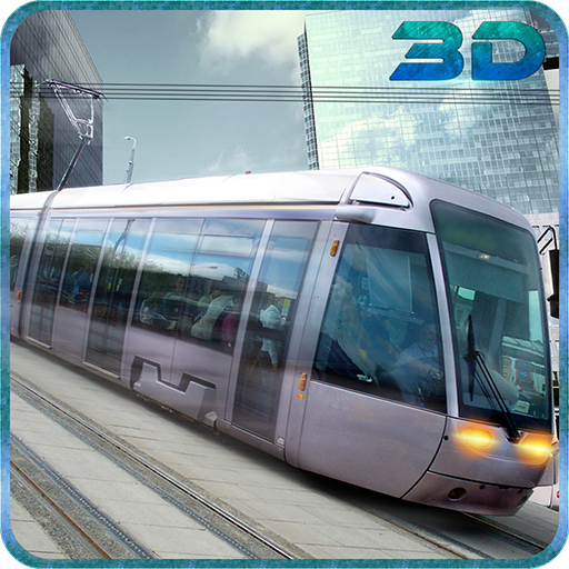 City Tram Driver Simulator 3D