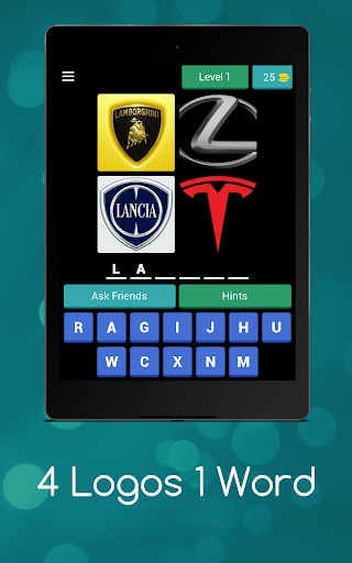 4 Logos 1 Word - Can you guess all the logos ? android2mod screenshots 6