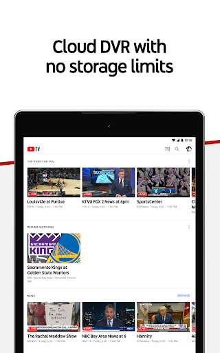 Download YouTube TV - Watch & Record Live TV MOD APK 9