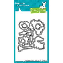 Lawn Fawn Custom Craft Die - Jump For Joy