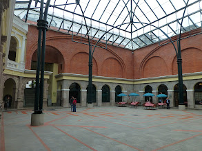 Photo: lnterior courtyard, City Center
