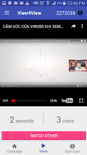 Download UView - View4View for YouTube video For PC Windows and Mac apk screenshot 1