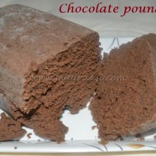 Chocolate Pound Cake