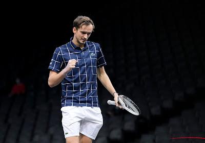 Niet Nadal, wel Medvedev is tweede finalist in ATP Finals