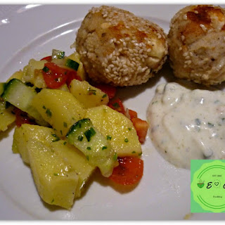 Non-fried Chicken Meatballs With Feta – Quick, Easy Dinner Idea