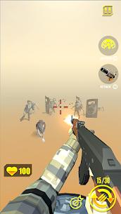 zombie shooter MOD (Unlimited Diamonds/Gold) 2