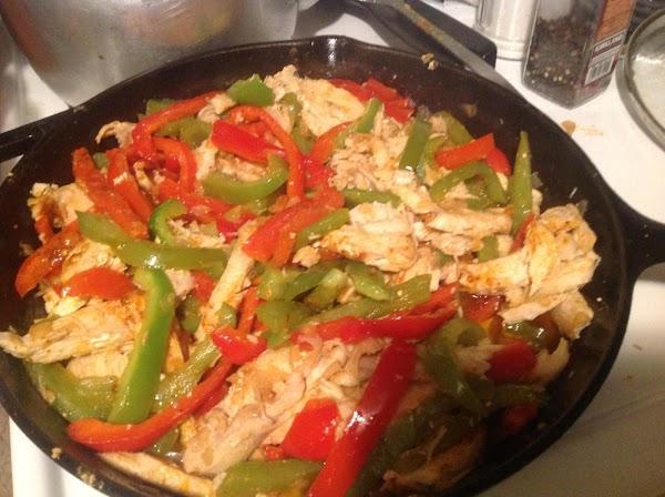 Chicken Fajita Supreme Recipe