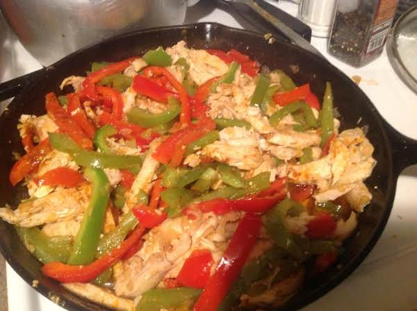 Chicken Fajita Supreme Recipe