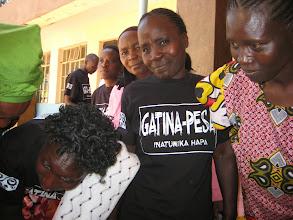Photo: Registration queue