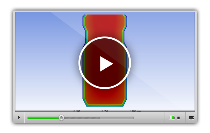 ANSYS Transient Heat Transfer Simulation Of A Insulated Water Bottle