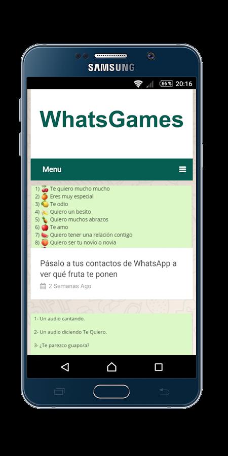 Games for whatsapp