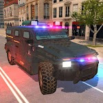 American Police Car Driving: Offline Games No Wifi icon
