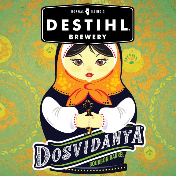 Logo of DESTIHL Dosvidanya Bourbon Barrel (2019)