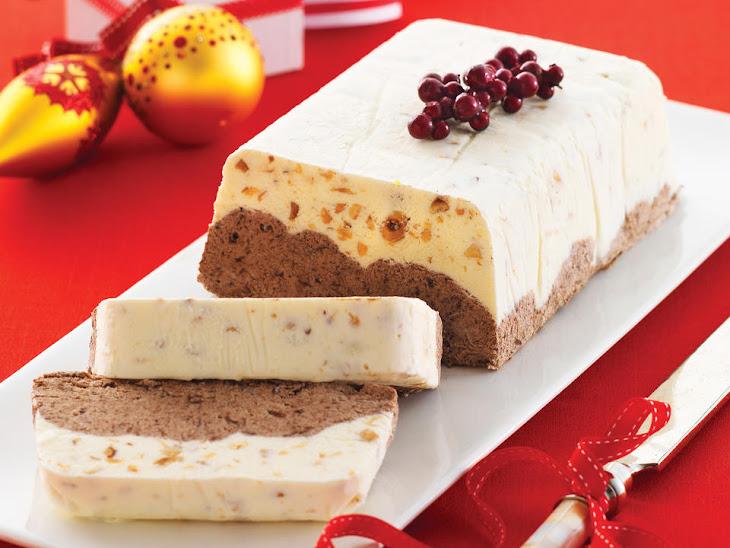Chocolate and Hazelnut Ice Cream Cake