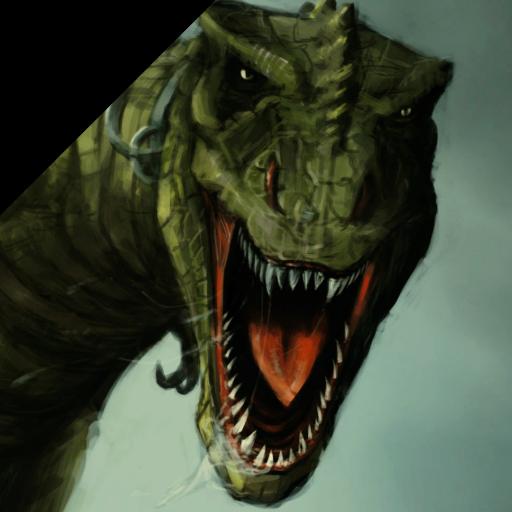 休闲の恐竜カード LOGO-記事Game