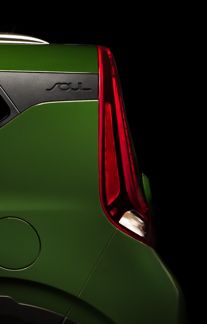 Teaser image of the new Kia Soul suggests it will retain its recognisable box shape. Picture: SUPPLIED