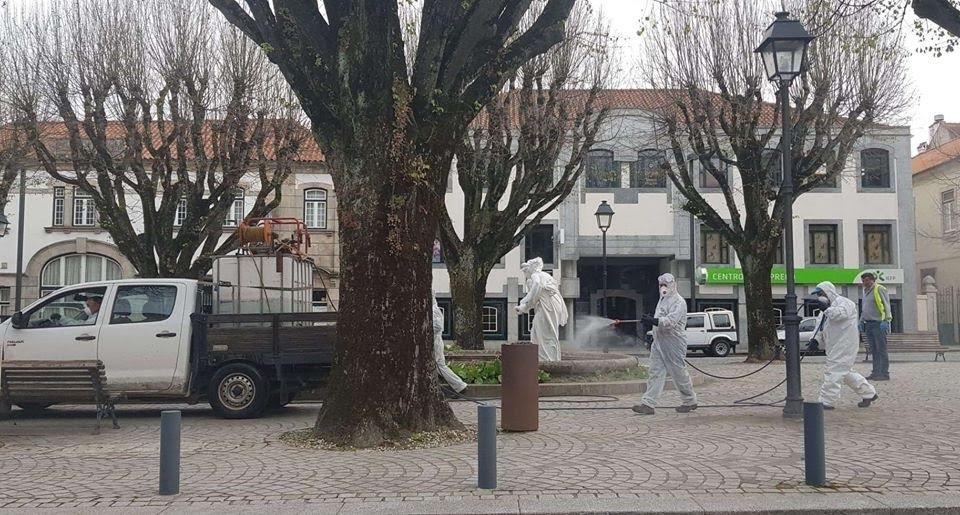 Município de Lamego inicia desinfeção da zona urbana