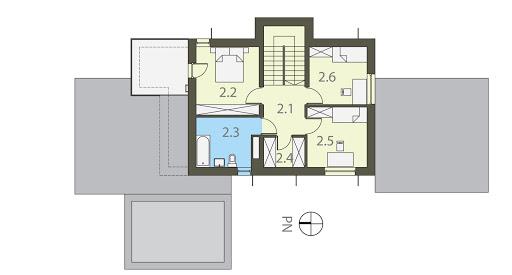 Modern - Rzut piętra