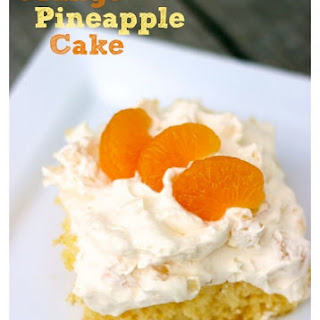Orange Pineapple Cake.