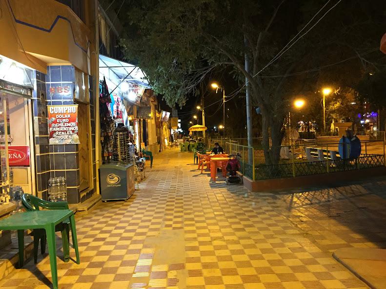ウユニ レストラン街