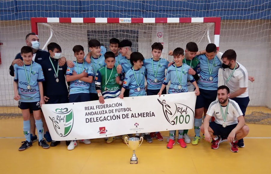 El CD El Ejido campeón infantil.
