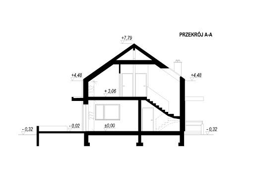 LIM House 02 - Przekrój