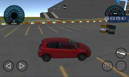 Golf Car Drift Simulator APK screenshot thumbnail 1