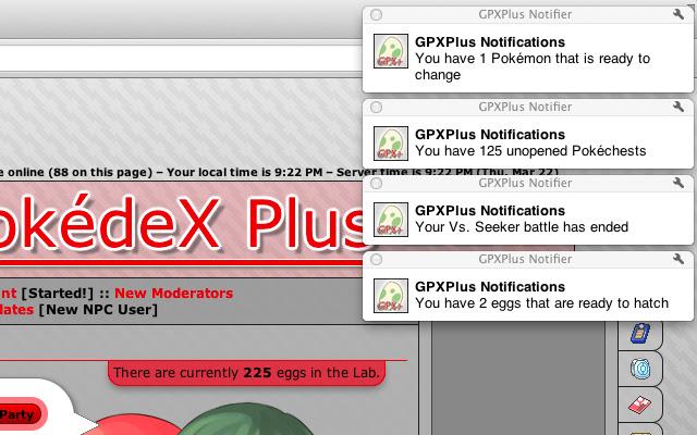 GPXPlus Notifier