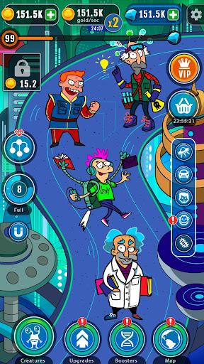 Cartoon Evolution : Merge Them All android2mod screenshots 4