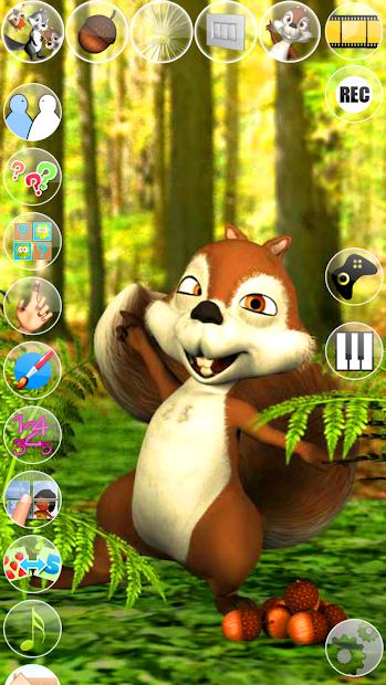 Talking James Squirrel screenshot 8