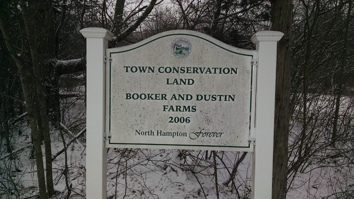 Booker and Dustin Farms Trail Map - North Hampton, NH