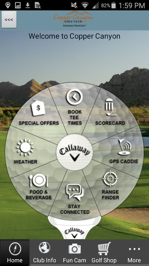 Copper Canyon Golf Club- screenshot