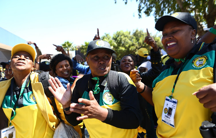 The 54th ANC elective conference at Nasrec. Picture: MASI LOSI