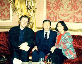 Photo: With Lo Fook Chuen. Canton Private Bar 1989.