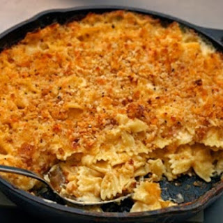 Skillet Macaroni and Cheese Recipe
