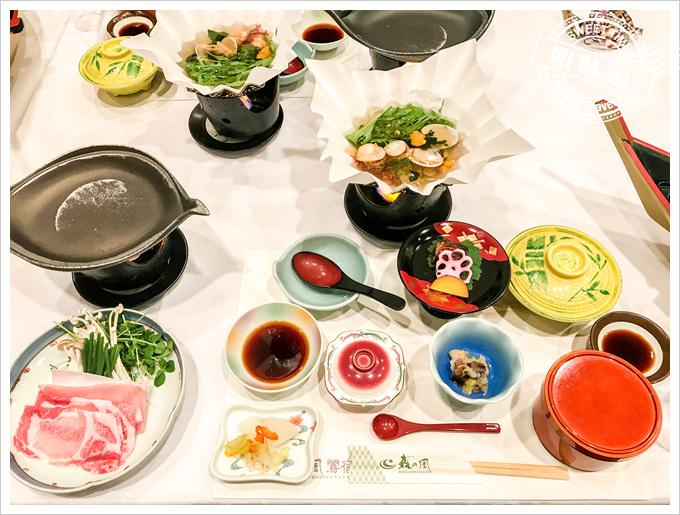 森之風鶯宿酒店早晚餐懷石料理