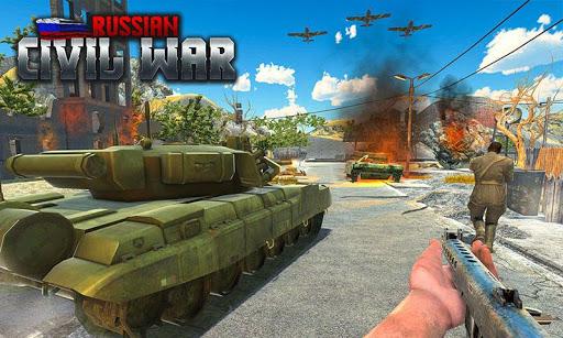 Russian Army Civil War Battlegrounds Survival Game 1.0.3 screenshots 1