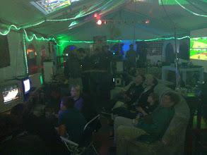 Photo: cccamp retro gaming tent