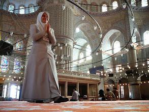 Photo: A Kék Mecsetben, Szultanahmet Mecset, Isztambul, Kék Mecset