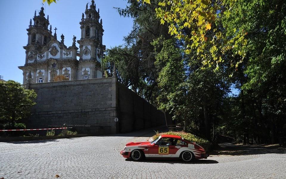 Clássicos em Lamego recriaram Rally de Portugal