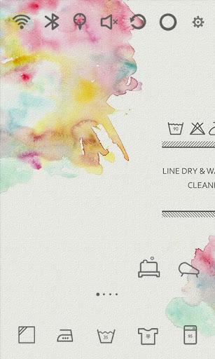Washing Life Watercolor Theme