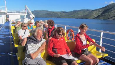 Photo: Met de ferry naar Split