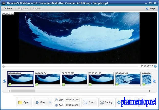 ThunderSoft Video to GIF Converter Free Download